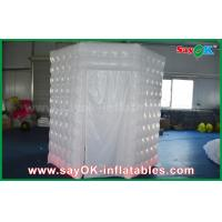 China PVC Coated Inflatable Octagon Mobile Photo Booth Tent With LED Lighting wholesale
