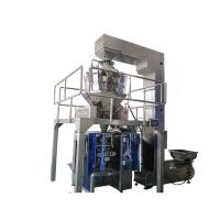 China multihead weigher VFFS cookies/snack/chips/nut packaging machine,snack/cookies/crisps packing machine wholesale