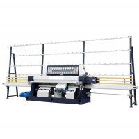 China 7m/Min Straight Line 9 Spindles Glass Edging Machine wholesale