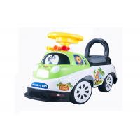 China Kids Toddler Plastic Ride On Car Push Baby Walker With Backrest Non - Toxic wholesale
