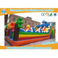 China Sea World Large Inflatable Games , Inflatable Indoor Playground Equipment For Kids on sale