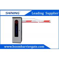 Quality 3S Lifting Time Intelligent Car Parking Lot Barrier Gate With Folding Arm wholesale