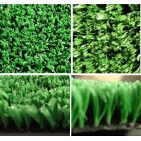 Quality Soft Green 70 75 μm Fiber Thickness Artificial Turf Sports for Basketball / Tennis Courts for sale