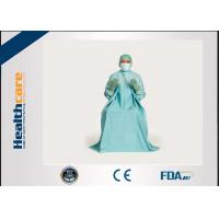 China T.U.R Dispoable Surgical Gown Urology Surgery blue colour SMS EO Sterile wholesale