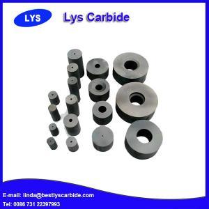 China Flat wire drawing die tungsten carbide flat wire drawing die wholesale