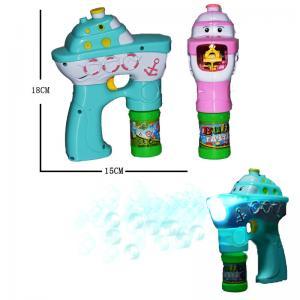China Electronic Music Kids Bubble Making Machine Customized Color 18×15 Cm Size on sale