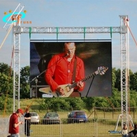 China Aluminum spigot truss for outdoor LED screen advertisment display wholesale