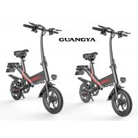 China Digital Odometer Foldable Electric Bicycle Max Speed 25KM/H 12 Inch Pneumatic Tire wholesale
