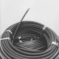 China High tensile strength 4×31SW+FC Steel Wire Rope for Suspended Platform for sale