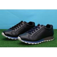 China Wholesale P-rada mens designer casual lace-up black low top grade male dress/sports shoes wholesale