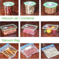 China VACUUM JAR, VACUUM CONTAINER, channel vacuum pouch food storage bag, Safety food grade vacuum storage bag, home used vac wholesale