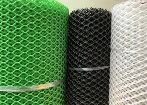 China Green Colour 20mm Hole Extruded 5mm Plastic Netting Mesh For Fishing wholesale