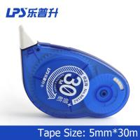 Titanium Dioxide Colorful Decorative Correction Tape Plastic 30m 90162