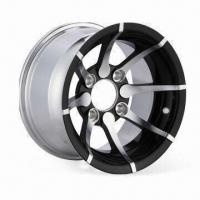 China Aluminum Wheel for Golf Cart, Measures 12 x 7 Inches wholesale