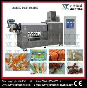 China snacks food machine Dog chewing processing machine wholesale
