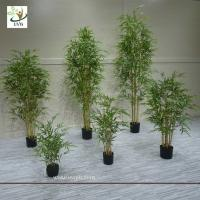 UVG indoor bonsai silk artificial bamboo for office decoration PLT20