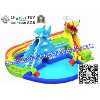 Quality Cool Inflatable Water Park Equipment  , Resort With Waterpark for sale