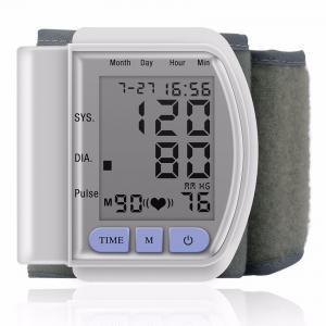 China LCD Digital Home Automatic Wrist Blood Pressure Pulse Sphygmomanometer and Tonometer Monitor wholesale