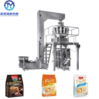 China Gusseted Bag 2.5kw Wafer Biscuit Granular Packing Machine wholesale