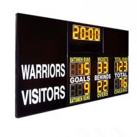 "China Standard Aussie Rules AFL Electronic Scoreboard , Afl Football Scoreboard With 12"" Digit wholesale"