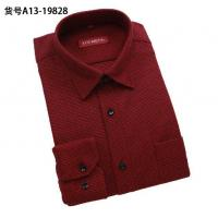 China Wholesale men warm shirts thicken long-sleeved shirt men's plaid designer business shirts wholesale