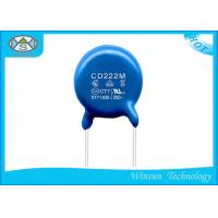China Round Chip Multilayer Ceramic Capacitor X1Y1 Capacitor With Epoxy Resin on sale
