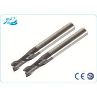 China Coating Tungsten Steel End Mills For Stainless Steel , High Speed End Mills wholesale