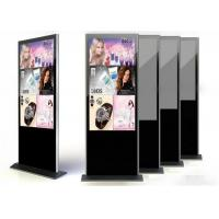 Quality Floor Standing Kiosk 1920 x 1080 , Infrared Touch screen Advertising Player for sale