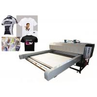 Quality Sublimation Textile Printing Machine / Digital Flatbed Printer High Efficiency for sale