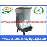 China Natural Color PVA Plastic Laundry Bags Dissolvable in Cold and Hot Water wholesale