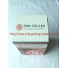 China Custom Cigar Humidor Bags / Cigar Wraps with Zipper and Window wholesale