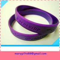 Quality debossed  bracelet wholesale