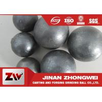 Quality Highly Hardness Grinding Media Balls / Mining Cement Ball Milling Media wholesale