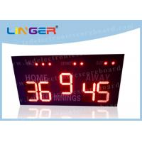 China 16 Inch 400mm LED Baseball Scoreboard For High School Simple Operation wholesale