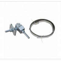 China Elector - Insulating Rubber Type Down Lead Clamp For Fixation Of OPGW And ADSS Onto  Pole / Tower wholesale