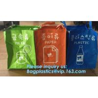 China Non Woven Hotel Washing high quality Drawstring Laundry Bag, laundry bag for hotel, Foldable non woven corner laundry ha on sale