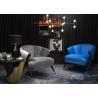 China Lobby Leisure Furniture European Comfortable Creative Low Back Lounge Sofa Chair wholesale