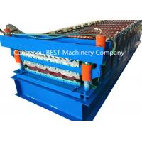 Buy cheap 840/850 double layer profile drawing roof sheet roll forming machine from wholesalers
