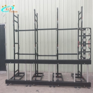 China Aluminum 6061-T6 Portable Led Display Truss Ladder Shape wholesale