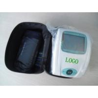 China DC 6V LCD screen display, read easy, 50 groups memory Portable Blood Pressure Monitors wholesale