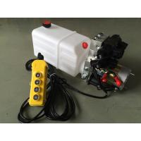 China Double Acting Hydraulic Cylinder Hyd Power Unit With 2 Station CETOP 03 Solenoid Valves wholesale