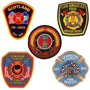 China ODM Polyester Fire Department Velcro Patches For Tactical Vest wholesale
