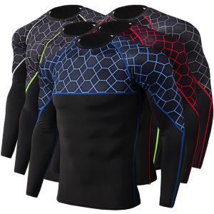 Buy cheap Long Sleeve Rash Guard Shirt , Loose Fit Rash Guard Refeltive Print Eco Friendly from wholesalers
