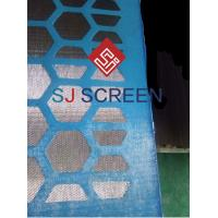 China Replacement Screen , Mi Swaco Shaker Screens High Strength Steel Frame wholesale