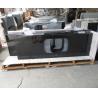 China Natural Angola Black Granite Slab Countertop Cost Kitchen Countertop Worktops wholesale