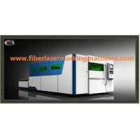 China Water Cooling Fibre Optic Laser Cutting Machines With Auto Feeding Shuttle Table wholesale