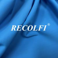 China Woven Stretch Twill Elastic Repreve Recycled Polyester Fibers With Soft Skin Feeling on sale
