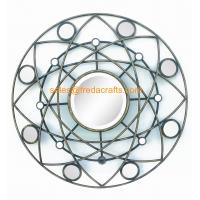 China Factory Price Round Shape Modern design Mirror Decorated Wall Mirror wholesale