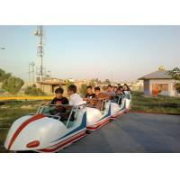 China Space Train Design Kiddie Roller Coaster Customized Capacity For Children / Adults wholesale