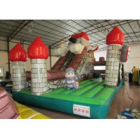 China Indoor Playground Inflatable Fun City , Commercial Children Castle Bounce House wholesale